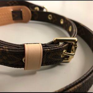 Louis Vuitton Bags - Authentic Louis Vuitton 16MM adjustable strap NEW